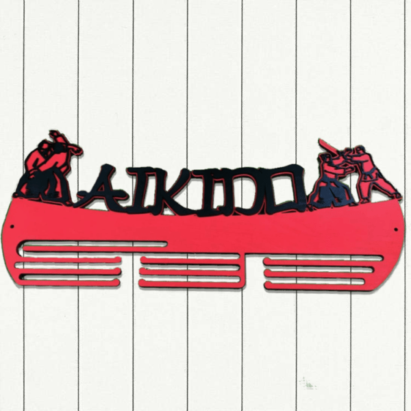 Медальница айкидо | AIKIDO