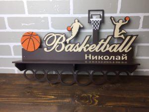 баскетбольная медальница